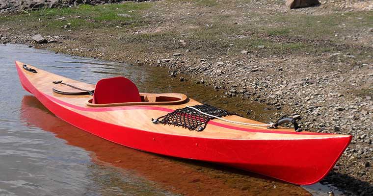 Un nouveau kayak LEO sur l'Erdre (44)