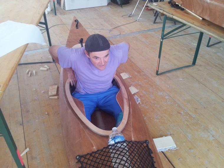 Construire un kayak semaine du golfe 2013