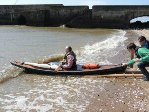 Mise à l'eau LEO Estuaire