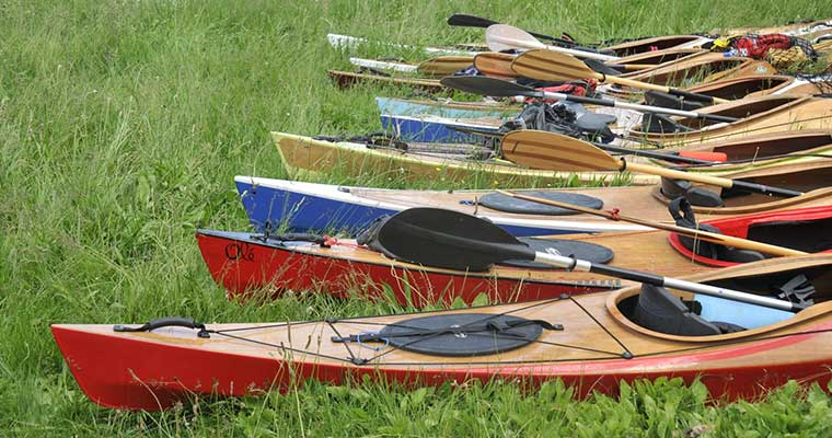 Rassemblement des kayaks LEO 2015