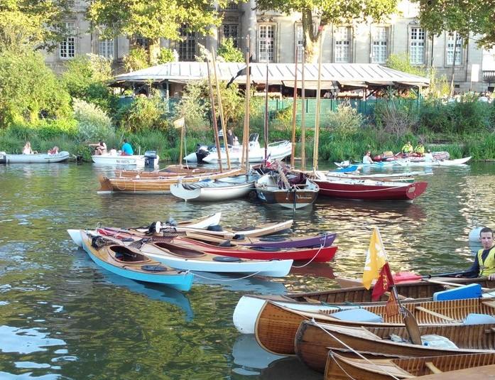 Rosace de Kayaks LEO RDV de l'Erdre